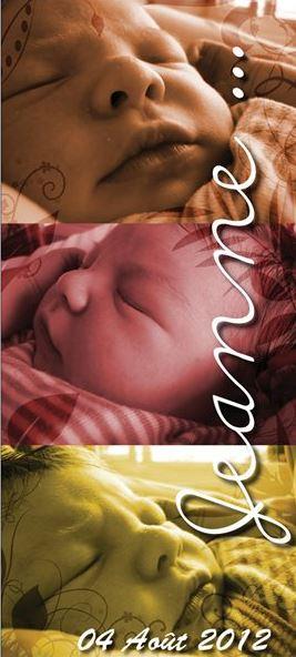 Faire Part naissance