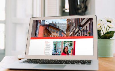 Création d'un site web one page pour un cabinet d'avocats de Toulouse