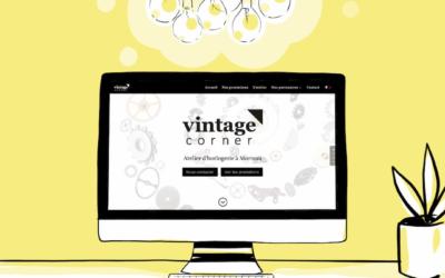 Création du site de Vintage Corner – horloger